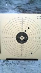 Luftpistol träning 20160305